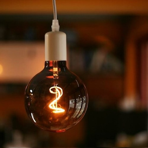 룩스램 LED G125 뉴필터 에디슨전구 전구색 4W_이미지