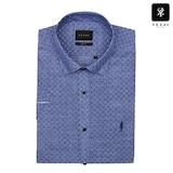 패션그룹형지 예작 슬럽 플라워 프린트 슬림핏 반소매 셔츠 YJ8MBS626BL_이미지