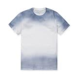 코오롱인더스트리 시리즈 워싱 그라데이션 티셔츠 SATAM17751WHX_이미지