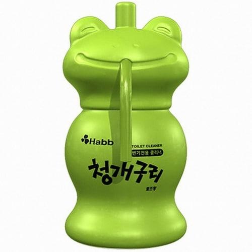 자몽나라 하비비 청개구리 변기전용 클리너 120g (1개)_이미지