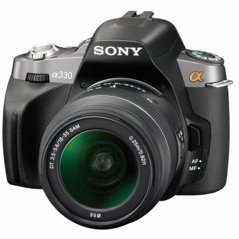 SONY 알파 A330 (18-55mm + 55-200mm)_이미지