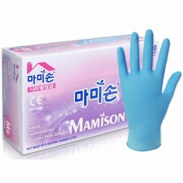 마미손 니트릴 장갑 M 100매(1개(100매))