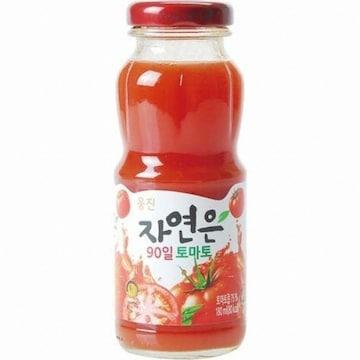 웅진식품 자연은 90일 토마토 180ml (24개)