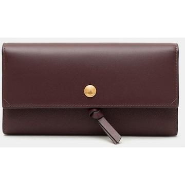 [여] 빈폴 와인 에버 3단 장지갑