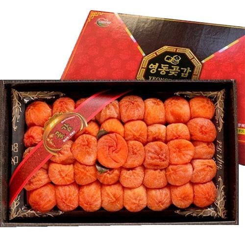 영동황금곶감 40개(과) 1.6kg 선물세트 채반3호 (1개)_이미지
