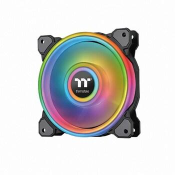 써멀테이크 Riing Quad 12 RGB 라디에이터 팬 TT 프리미엄 에디션 (3PACK/Controller)