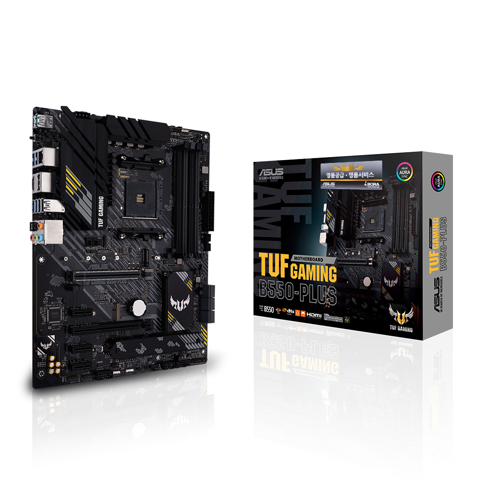 ASUS TUF Gaming B550-PLUS 아이보라