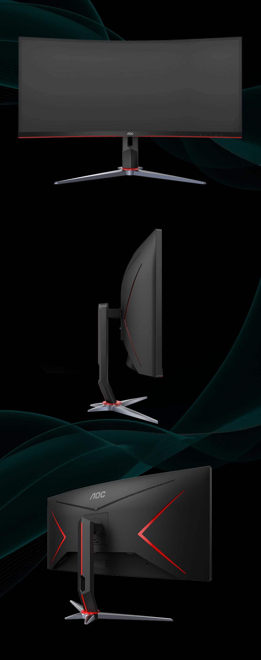 알파스캔 AOC CU34G2X 게이밍 144 울트라 WQHD 프리싱크 HDR 무결점