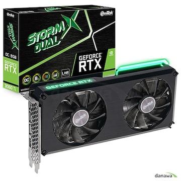 이엠텍 지포스 RTX 3060 Ti STORM X Dual OC D6 8GB