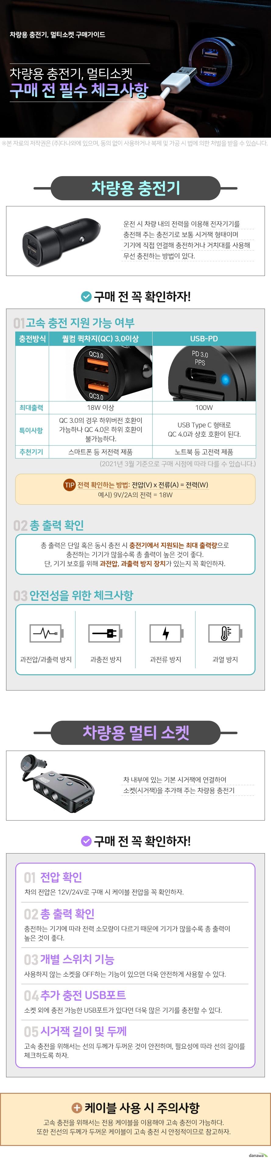 강원전자 NETmate USB QC3.0 고속 충전 시거잭 NM-CJ03