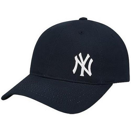 MLB 뉴욕 양키스 롱스트랩 스몰로고 볼캡 32CPIJ831-50N_이미지