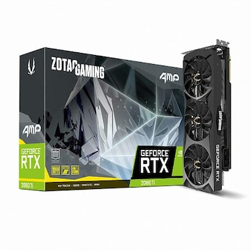 ZOTAC GAMING AMP 지포스 RTX 2080 Ti D6 11GB