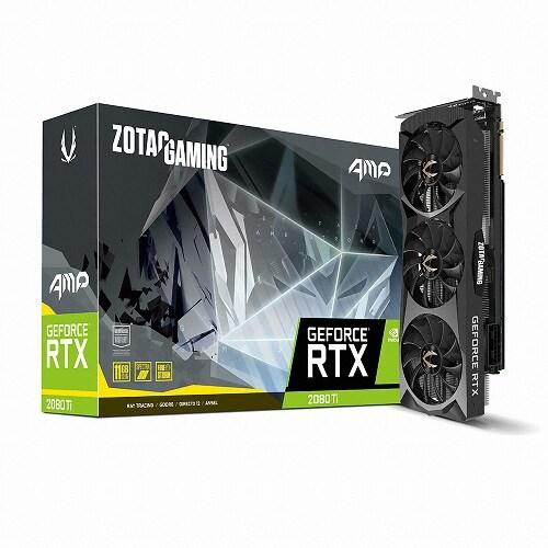 ZOTAC GAMING AMP 지포스 RTX 2080 Ti D6 11GB_이미지