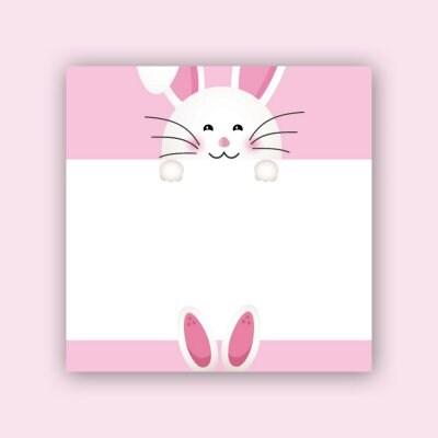 은성 009 핑크토끼 캐릭터 디자인 떡메모지_이미지