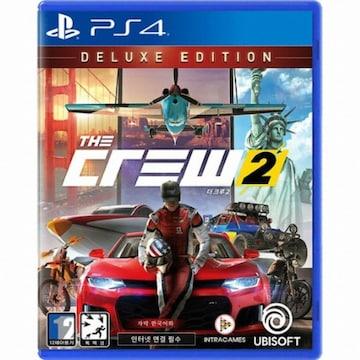 UBIsoft 더 크루 2 (The Crew 2) PS4(한글판,디럭스에디션)