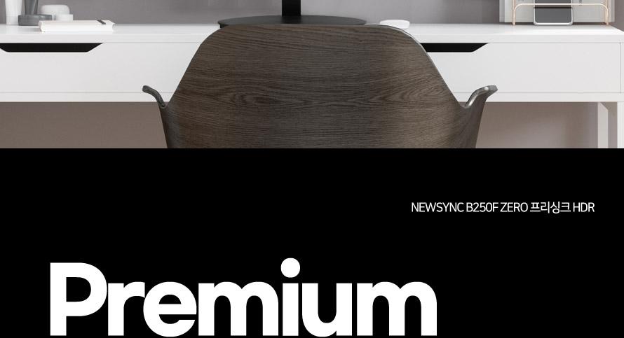 비트엠 Newsync B250F ZERO 프리싱크 HDR 무결점