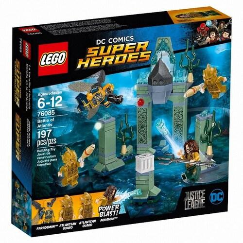 레고 DC 슈퍼히어로 아틀란티스의 전투 (76085)