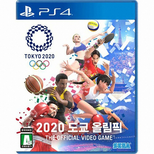 2020 도쿄 올림픽 -The Official Video Game PS4 한글판