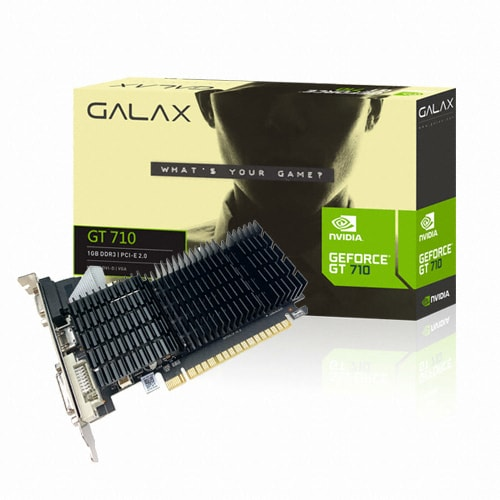 갤럭시 GALAX 지포스 GT710 D3 1GB LP 무소음_이미지