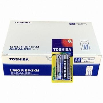 Toshiba 알카라인 AA(40개)