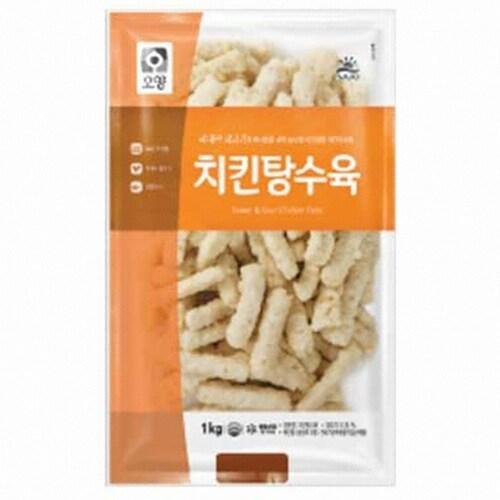 사조오양  치킨 탕수육 1kg (2개)_이미지