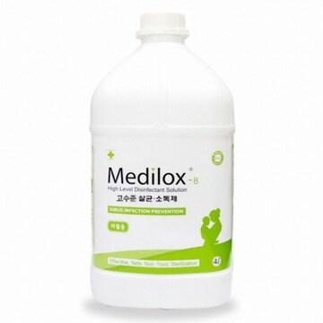 수산씨엠씨 메디록스B 유아용 무독성 살균소독제 4L