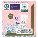 J2LOH 유기농본골드 팬티라이너 20개 (1팩(20개))_이미지