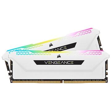 CORSAIR DDR4-3600 CL18 VENGEANCE RGB PRO SL WHITE 패키지 (32GB(16Gx2))_이미지
