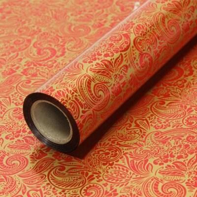 영프라자 선물 비닐 롤 포장지 큰문양 대 20m_이미지