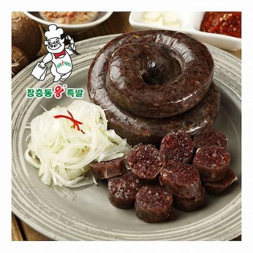 장충동왕족발  찰순대 1kg (3개)_이미지
