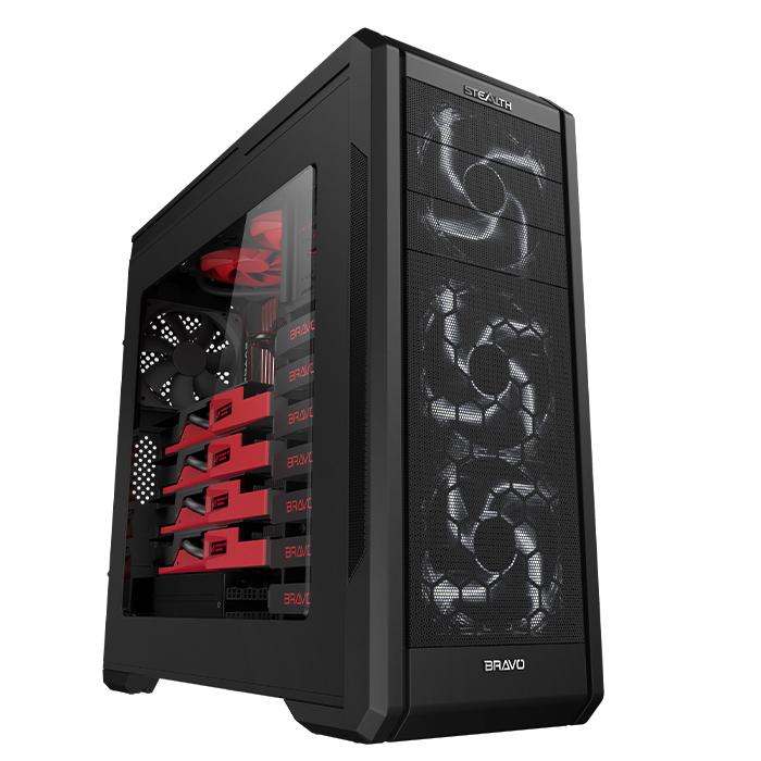 BRAVOTEC 스텔스 EX270 파노라마 윈도우 블랙