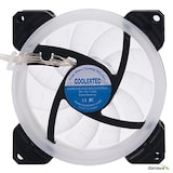 COOLERTEC USB-9225 LED RING WHITE(DUO)