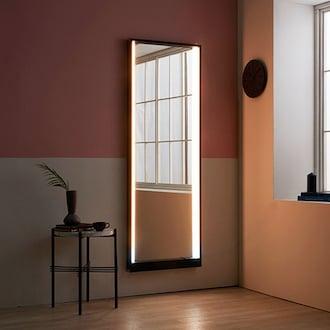 레이디가구 맥시멈 LED조명 와이드 전신거울 벽걸이형_이미지