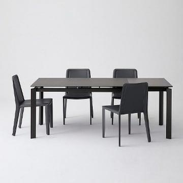 한샘몰  미즌하임 클래씨 세라믹 확장형 식탁세트 1400~2000 (의자4개)