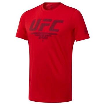 리복  UFC팬기어로고티셔츠 DU4585