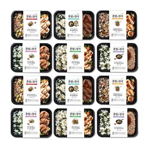 마켓네이처  건강도시락 혼밥의정석 6종 12팩 (1개)_이미지