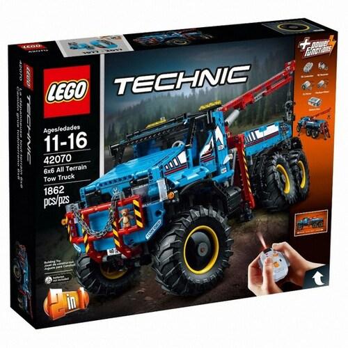 레고 테크닉 6x6 견인트럭 (42070)