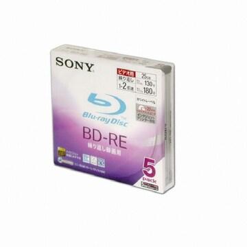 SONY BD-R 25GB 4x 와이드프린터블 슬림 (5장)_이미지