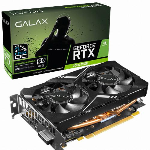 갤럭시 GALAX 지포스 RTX 2060 SUPER ELITE OC D6 8GB