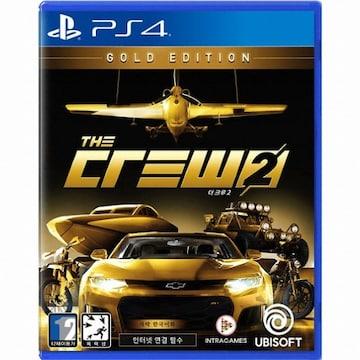 UBIsoft 더 크루 2 (The Crew 2) PS4(한글판,골드에디션)