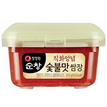 대상 청정원 순창 직화양념 숯불맛 쌈장 300g