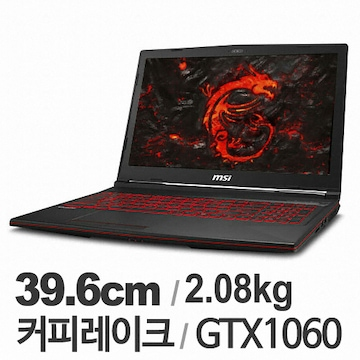 MSI GL시리즈 GL63 8RE-i5(SSD 128GB)