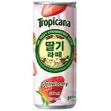 롯데칠성음료 트로피카나 딸기라떼 240ml  (30개)