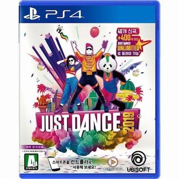 UBIsoft  저스트 댄스 2019 (Just Dance 2019) PS4 (한글판,일반판)