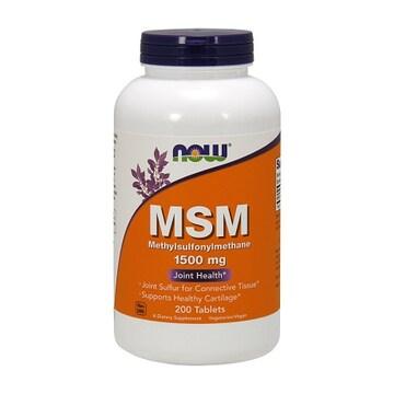 나우푸드 MSM 1500mg 200정 (해외)(1개)