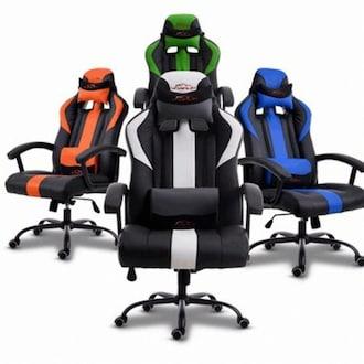 스툴 시팅포인트 레이싱 의자+쿠션 GL-905 (포켓스프링방석+스틸다리)_이미지