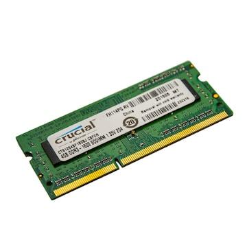 마이크론 Crucial 노트북 DDR3 4G PC3-12800 1.35V