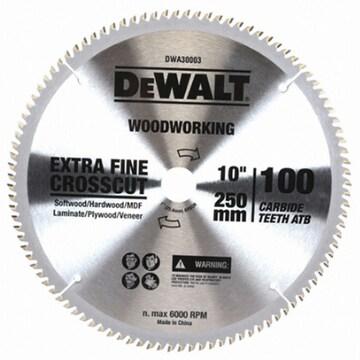 디월트  10형 목재용 원형톱날 DWA30003