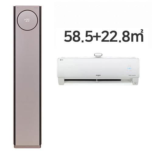 LG전자 휘센 타워에어컨 FQ18PBNRA2(기본설치비 포함(수도권))