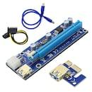 PCI-Express 1x to 16X 009S LED 라이저카드